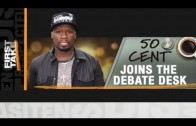 "50 Cent ""On ESPN's First Take"""