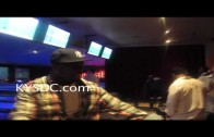 "50 Cent ""Wearing Gunplay's MMG Chain While Bowling """