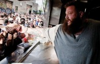 "Action Bronson ""BTS OF Bushwick Block Party Food Truck"""