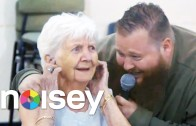 "Action Bronson ""Performs ""Strictly 4 My Jeeps"" At An Old Folks Home"""