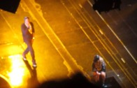 Beyonce Brings Out Jay Z At The Barclays Center
