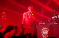 "Big Sean ""Previews ""Fire"" In London """