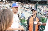 "Big Sean ""Throws First Pitch at Comerica Park"""