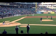 Chance The Rapper Throws Out First Pitch At White Sox Game