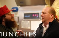 "Chef Mario Batali Cooks Dishes Inspired By Action Bronson's ""Mr. Wonderful"""