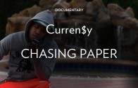 """Curren$y Feat. Pharrell """"Creating """"Chasing Paper"""""""""""