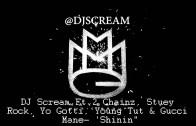 "DJ Scream Feat. 2 Chainz, Stuey Rock, Yo Gotti, Future & Gucci Mane ""Shinin (Teaser)"""