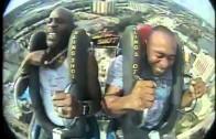 DMX Freaks Out On Amusement Park Ride