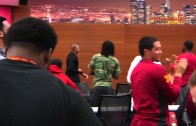 Dr. Dre Gives USC Football Team A Pep Talk