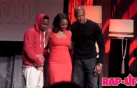 "Dr. Dre ""Presents Kendrick Lamar With ASCAP Vanguard Award"""