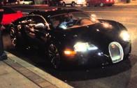 Drake Has Trouble Starting His Bugatti Veyron
