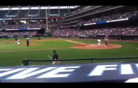 "Drake ""Opening Pitch At Cleveland Indians Game"""