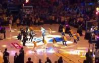 E-40 Performs At NBA Finals Halftime Show
