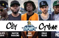 "Emilio Rojas, Maffew Ragazino, Black Dave, HD & Kirk Knight ""DJBooth City Cypher #1"""