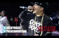 "French Montana ""Perform Choppa Choppa Down Live In New York!"""