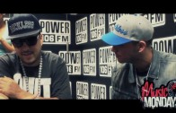 "French Montana ""Y&R Music Monday's Interview"""