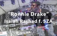 """Isaiah Rashad & SZA Perform """"Ronnie Drake"""" At Fader Fort"""