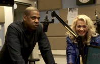 "Jay-Z ""Introduces Rita Ora At Z100 In New York"""