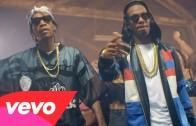 "Juicy J Feat. Wiz Khalifa & Chris Brown ""Talkin' Bout"""