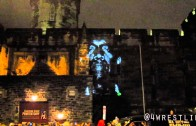 """Kanye West """"""""New Slaves"""" Projection In Philly"""""""