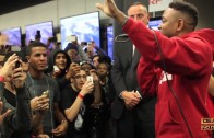 """Kendrick Lamar Feat. Jay Rock """"""""Money Trees"""" (Live At Best Buy in NYC)"""""""