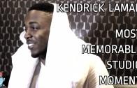 "Kendrick Lamar ""Most Memorable Studio Moment"""