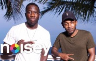 """Kendrick Lamar & Nigel Sylvester """"Back & Forth"""" For Noisey"""