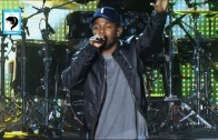 "Kendrick Lamar Performs ""i"" At Cleveland Cavaliers Season Opener"