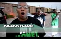 "Killa Kyleon ""Behind Da Scenes of ""Mrs. Green"" Shoot"""
