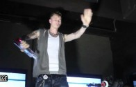 "Machine Gun Kelly ""Album Listening Party in NYC (Performs Lace Up)"""
