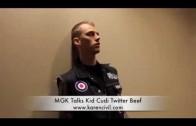 """Machine Gun Kelly """"Talks Twitter Beef w/ Kid Cudi"""""""