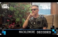"""Macklemore """"Decodes """"Neon Cathedral"""""""""""