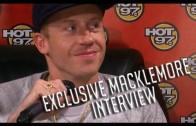 "Macklemore ""Talks Kendrick Lamar, Race & Homosexuality"""