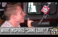 "Macklemore ""Talks ""Same Love"" Inspiration"""