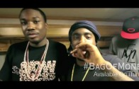 """Meek Mill Feat. Wale & French Montana """"Freestyle On Set of """"Bag Of Money"""""""""""