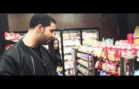 "Nicki Minaj And Drake On The Set Of Usher's ""She Came to Give It to You"""