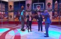 "Nicki Minaj Feat. Shaq, Kenny, EJ & Grant Hill ""Inside the NBA"" Cypher"
