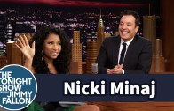 Nicki Minaj Talks On Past Jobs With Jimmy Fallon