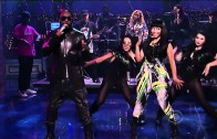 "Nicki Minaj & Will.I.Am ""Live Performance on David Letterman of ""Check It Out"""""