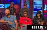 "Pusha T Feat. CyHi Da Prince, Common, Teyana Taylor, Big Sean ""G.O.O.D. Music talks ""Cruel Summer"""""