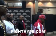 Rick Ross & 2 Chainz Accompany Floyd Mayweather To Weigh In