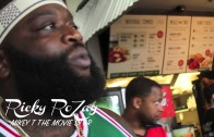 Rick Ross At Opening of Another Wingstop Location