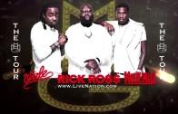 "Rick Ross Feat. Wale & Meek Mill ""MMG Tour Vlog #1"""