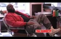 "Rick Ross ""The Source Magazine Photoshoot"""
