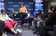 "Riff Raff ""Performs ""Raiders Vs. Hawks"" On Sway In The Morning"""