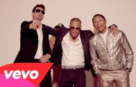 "Robin Thicke Feat. T.I. &Pharrell ""Blurred Lines"""