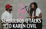 """Schoolboy Q """"Talks New LP, Old Rapper Tweets & More"""""""