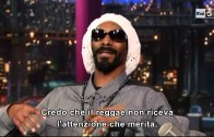 "Snoop Dogg ""Performs ""No Guns Allowed"" On Letterman"""