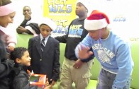 "T.I. ""Gives Toys At Detroit Children's Hospital"""
