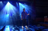 "The Weeknd Performs ""Pretty"" Live On David Letterman"
